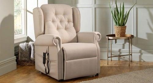 Bayswater, Vanilla Fabric - Recliner Reupholstery
