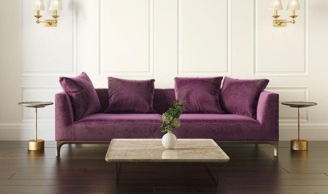 Fashionable Velvet Sofa