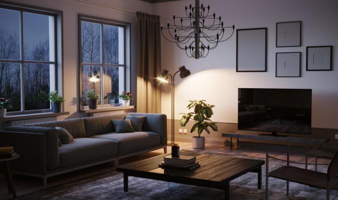 Using lighting to make a rental feel like home