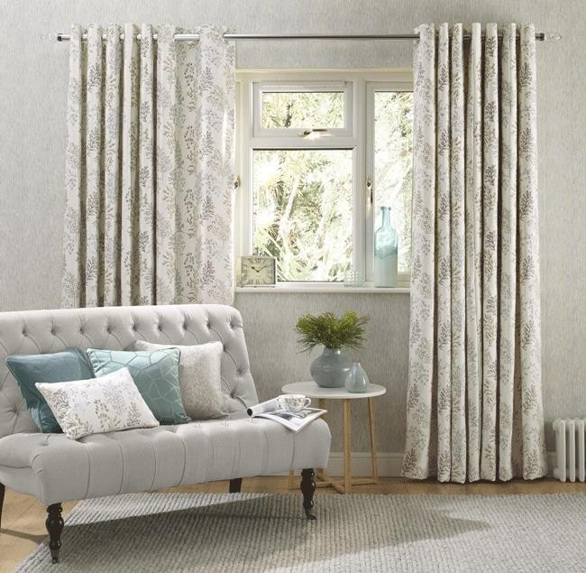 embroidered eyelet curtains