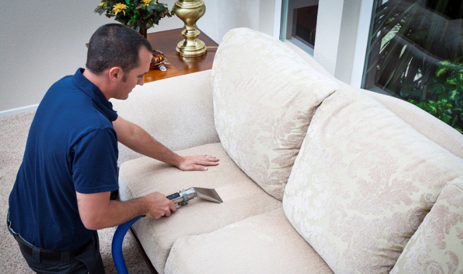 Cleaning Fabric Upholstery With Vacuum
