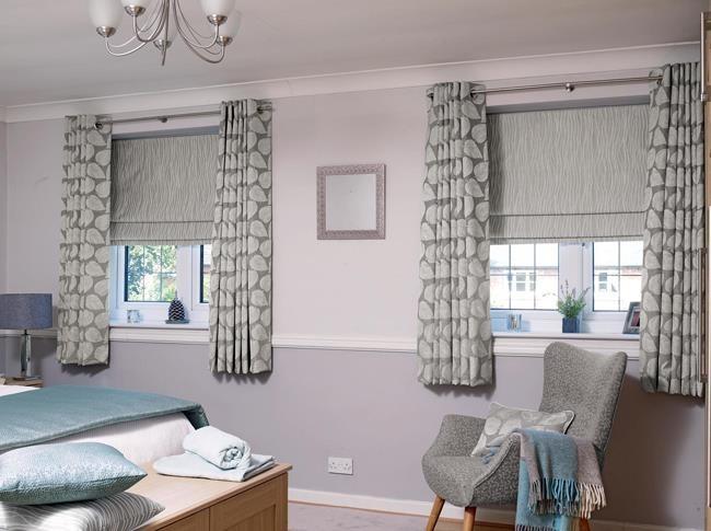 Grey curtains - Wickham