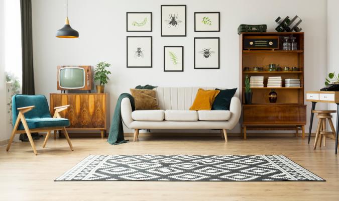 Retro Fusion living room