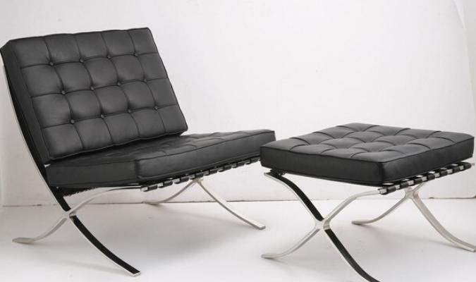 Barcelona Chair - Wikimedia