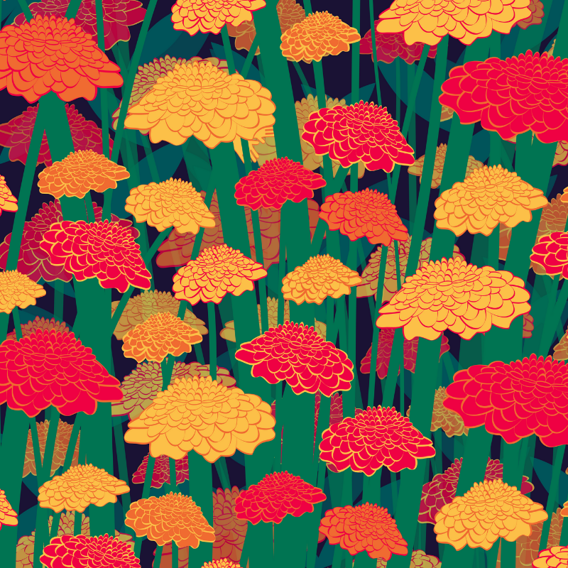 Find the Marigold gloves in the marigolds