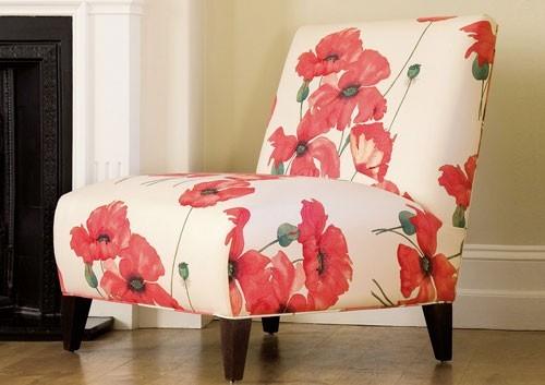 English Poppyfields - Red