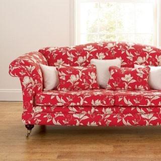 Poppy Red fabric - Horizon, Red