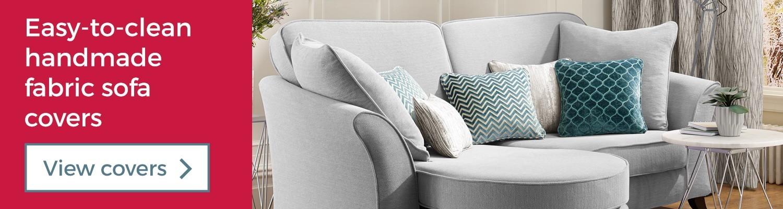 Easy to clean handmade fabric sofa covers